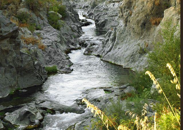 Zdjęcia: Sycylia, Kanion Alcantara, WłOCHY