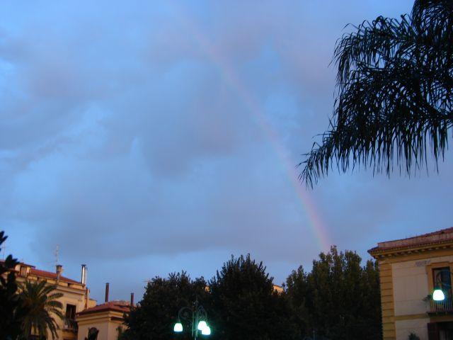 Zdjęcia: Sorento, Neapol, wieczorem po deszczu, WłOCHY