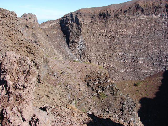 Zdjęcia: Włochy, Neapol, Wezuwiusz - krater, WłOCHY