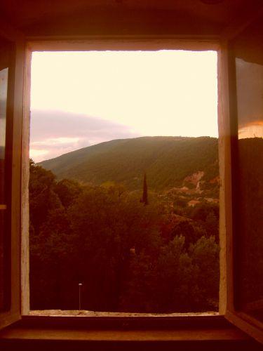Zdjęcia: San Severino Marche, Marche, Z okna, WłOCHY