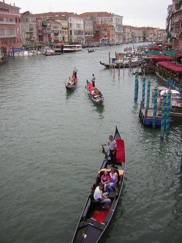 Zdjęcia: Wenecja, płynąc gondolą..., WłOCHY