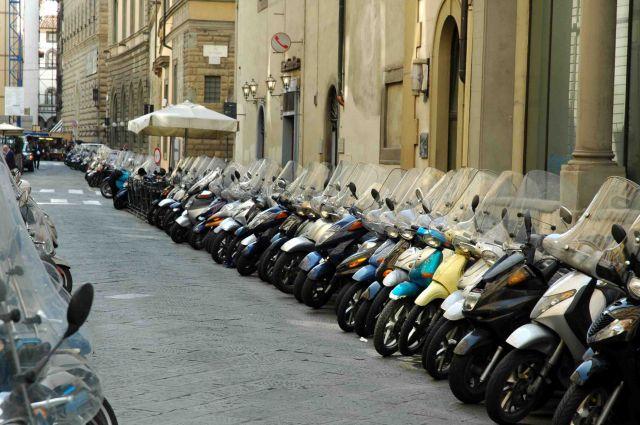 Zdj�cia: florencja, toskania, fani moto-crossu, W�OCHY