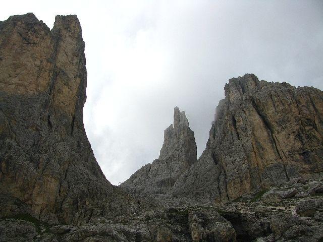 Zdjęcia: Dolomity, ., Vajolety, WłOCHY