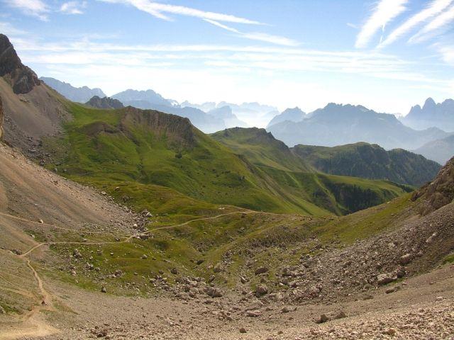 Zdjęcia: Dolomity, ., W drodze na przełęcz Cirelle, WłOCHY