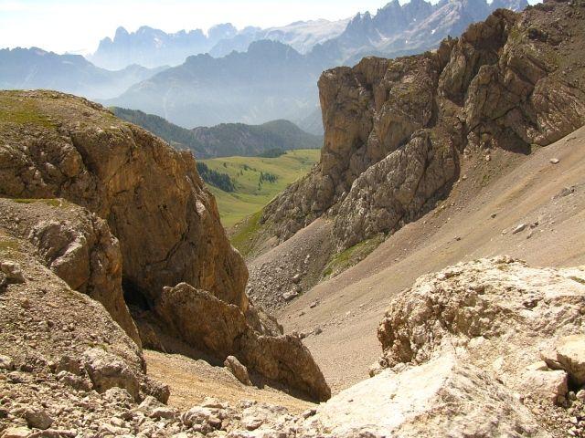 Zdjęcia: Dolomity, ., Przełęcz Cirelle 2683 m n.p.m., WłOCHY