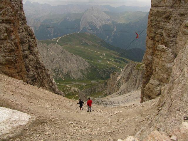 Zdjęcia: Sas Pardoi, Dolomity, Szlak do Canazei, WłOCHY