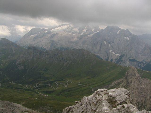 Zdjęcia: Sas Pardoi, Dolomity, Widok z Sas Pardoi, WłOCHY