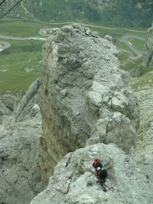 Zdjęcia: Sas Pardoi, Dolomity, Ferrata, WłOCHY