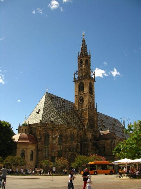 Zdjęcia: Bolzano, ., katedra, WłOCHY