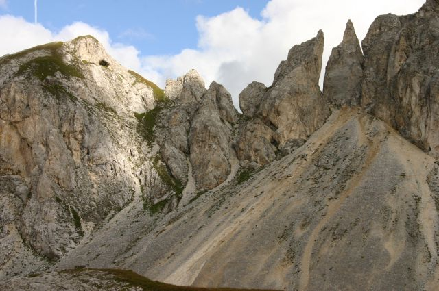 Zdjęcia: Dolomity, Dolomity, niczym krasnale, WłOCHY