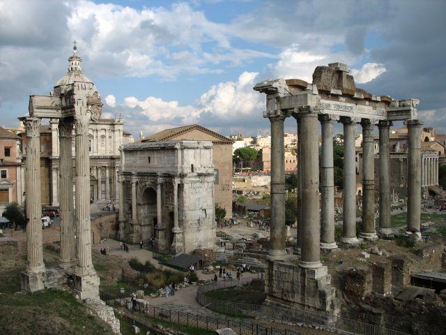 Zdjęcia: Forum Romanum, Rzym, pozostałości wiecznego miasta, WłOCHY