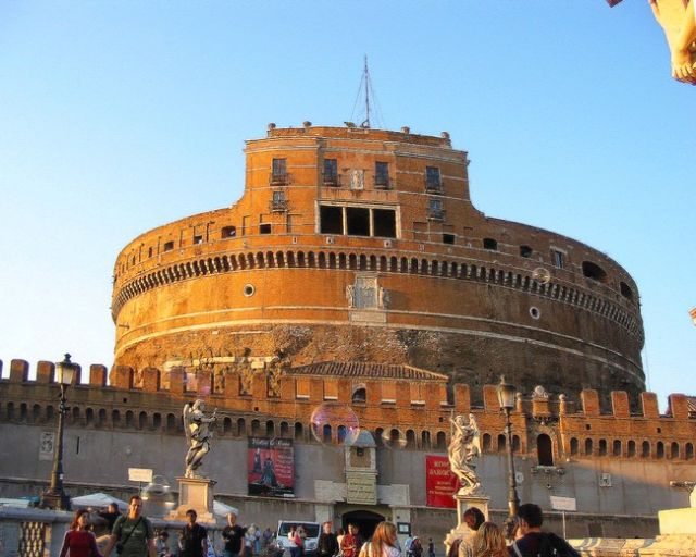 Zdjęcia: Rzym, Lacjum, Zamek Anioła, WłOCHY