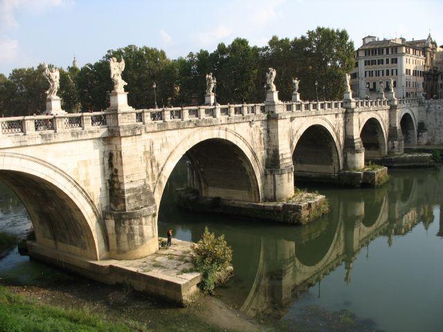 Zdjęcia: Rzym, Rzym, most Aniołów, WłOCHY