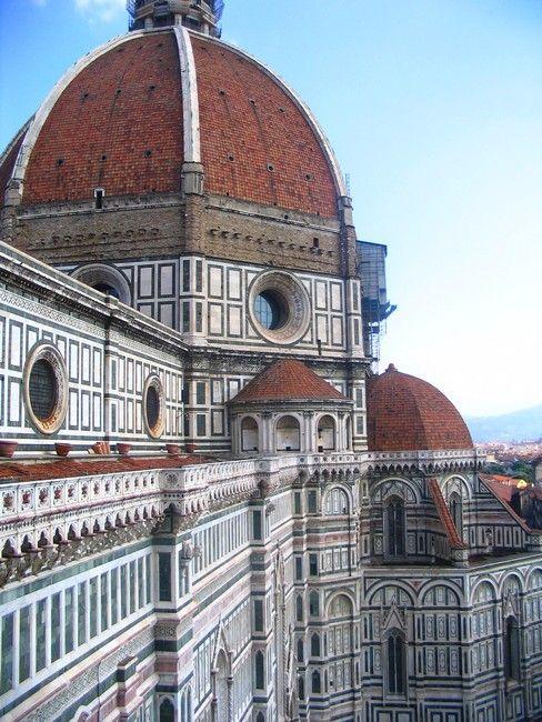 Zdjęcia: Florencja, Toskania,  monumentalna Katedra Santa Maria del Fiore, WłOCHY