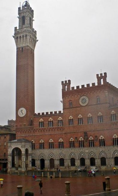 Zdjęcia: Siena, Toskania, Siena w deszczu, WłOCHY