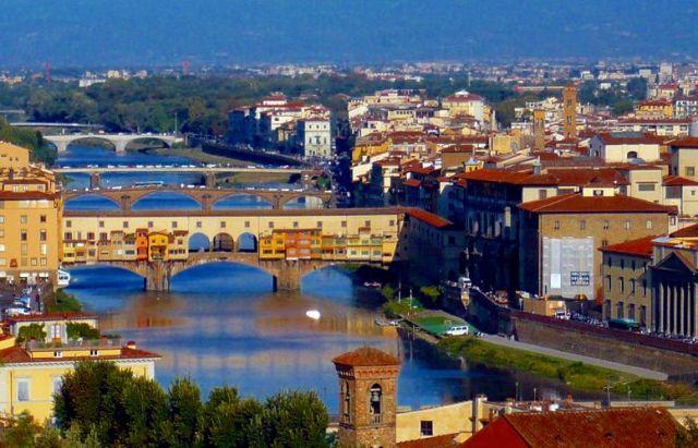 Zdjęcia: Florencja, Toskania, Most Złotników, WłOCHY