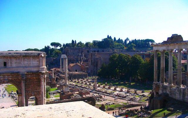 Zdjęcia: Rzym, Lacjum, Forum Romanum, WłOCHY