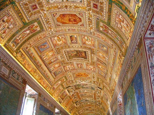 Zdjęcia: Rzym - Watykan, Lacjum, Kaplica Sykstyńska - sklepienie, WłOCHY