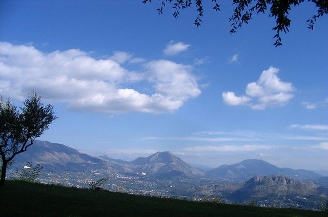 Zdjęcia: Monte Cassino, Lacjum, Widok ze wzgórza Monte Cassino, WłOCHY
