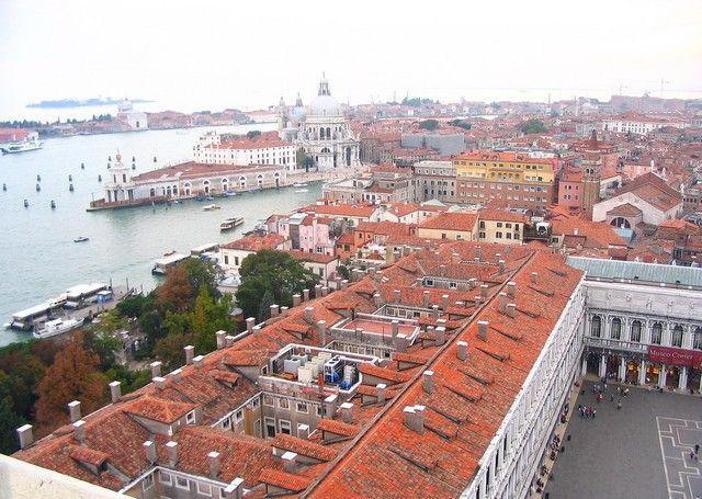 Zdjęcia: Wenecja, Veneto, Widok na zatokę z Wieży św, Marka, WłOCHY