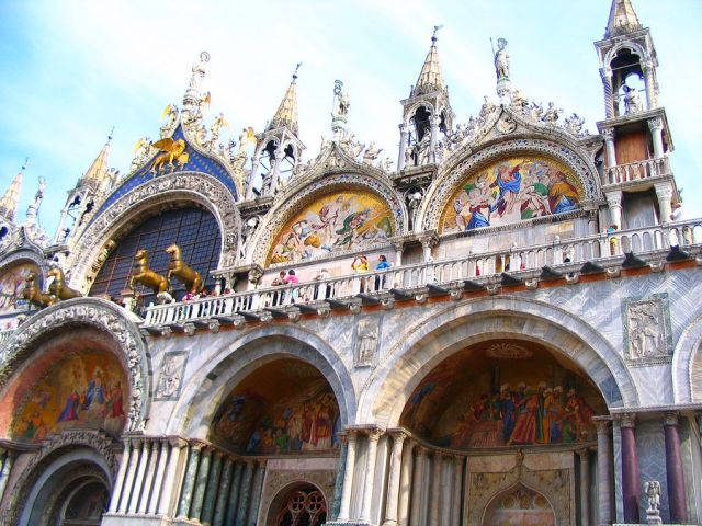 Zdjęcia: Wenecja, Veneto, Bazylika św. Marka, WłOCHY