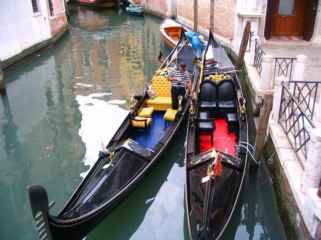 Zdjęcia: Wenecja, Veneto, gondole, WłOCHY