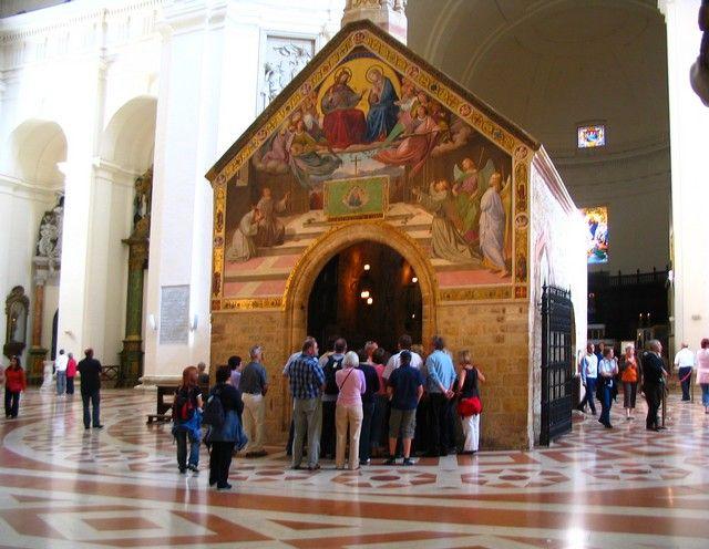 Zdjęcia: Asyż, Asyż - Porcjunkula - Bazylika Matki Bożej Anielskiej, WłOCHY