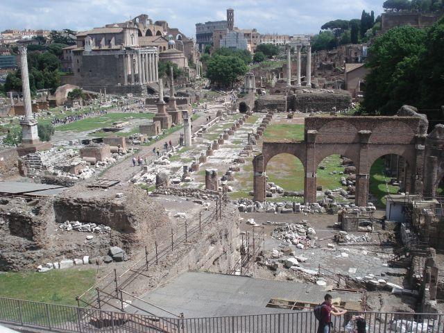 Zdjęcia: srarożytne miasto, Włochy, Rzym, WłOCHY