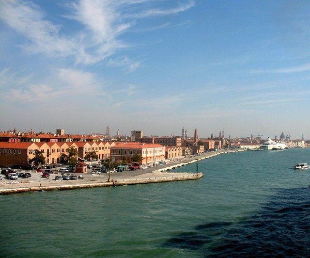 Zdjęcia: Wenecja, Veneto, widok z zatoki, WłOCHY