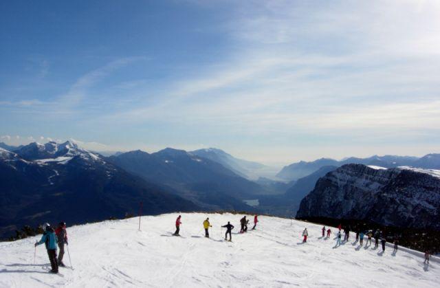 Zdjęcia: Paganella, Val di Sole, widok z góry, WłOCHY