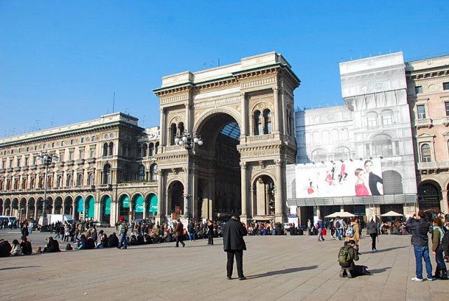Zdjęcia: Mediolan, Galeria Wiktora Emanuela, WłOCHY