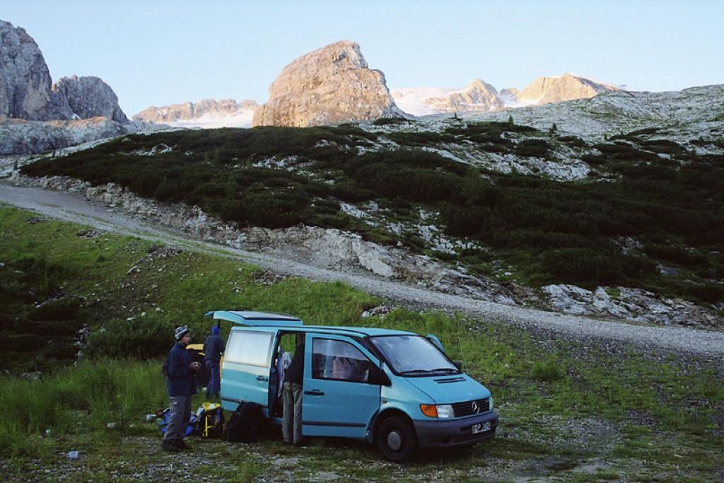Zdjęcia: Pod Marmoladą, Dolomity, Nie ma to jak udany Biwak, WłOCHY