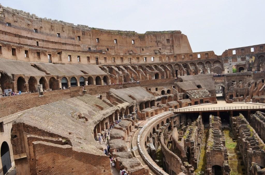 Zdjęcia: Rzym, Lazio, Koloseum, WłOCHY