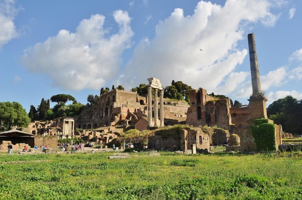 Zdjęcia: Rzym, Lazio, Forum Romanum, WłOCHY