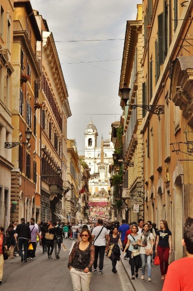 Zdjęcia: Rzym, Lazio, Plac Hiszpański, WłOCHY