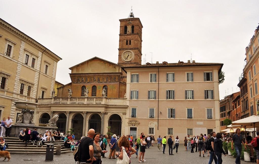 Zdjęcia: Rzym, Lazio, Santa Maria in Trastevere, WłOCHY