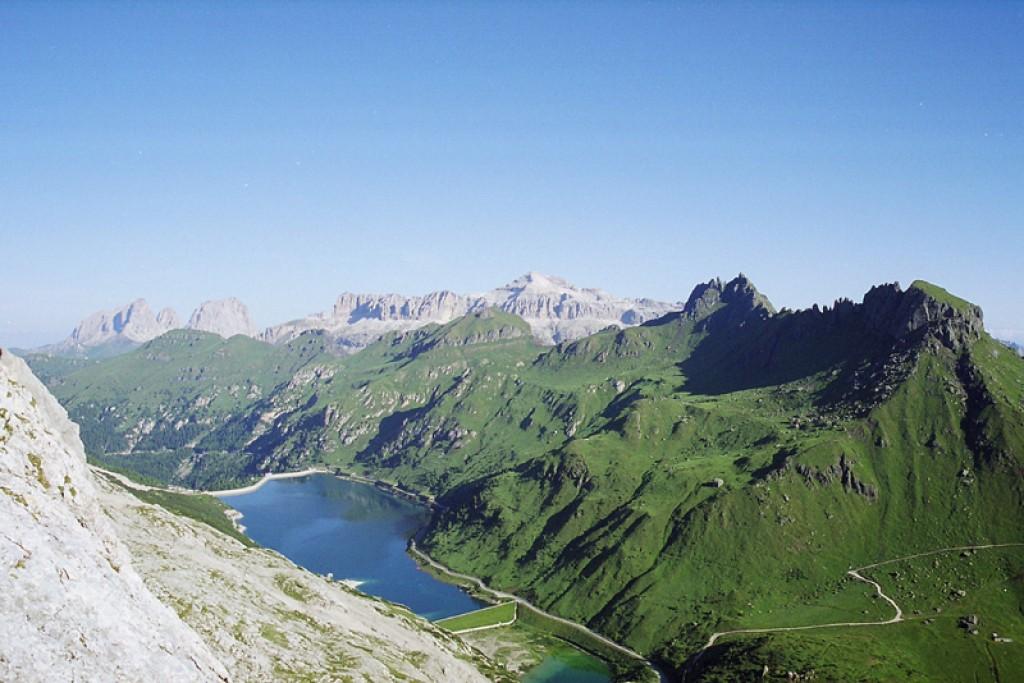 Zdjęcia: Marmolada, Alpy - Dolomity, Sella z Marmolady, WłOCHY
