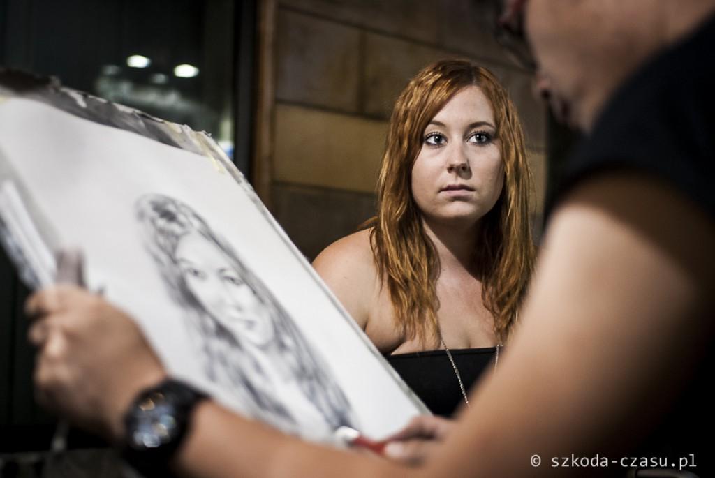 Zdjęcia: Rzym, Lacjum, Rzym - uliczny artysta, WłOCHY