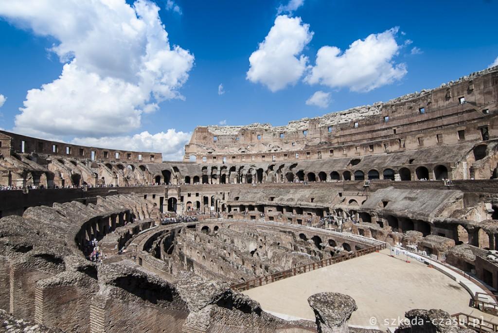 Zdjęcia: Koloseum, Lacjum, Koloseum, WłOCHY