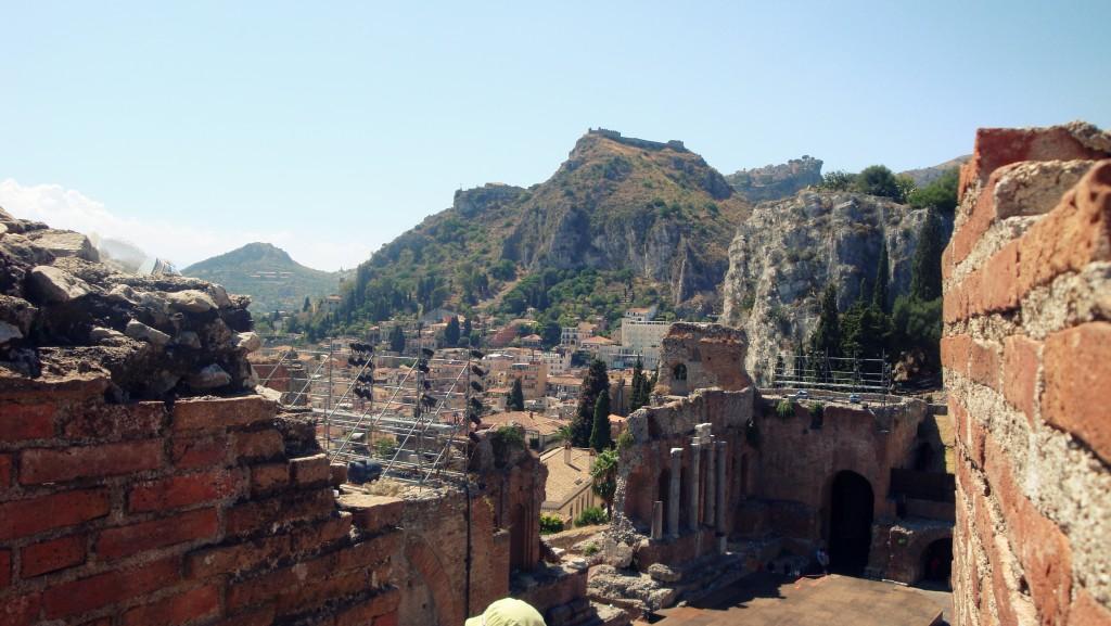 Zdjęcia: Taormina, Sycylia, Amfiteatr , WłOCHY