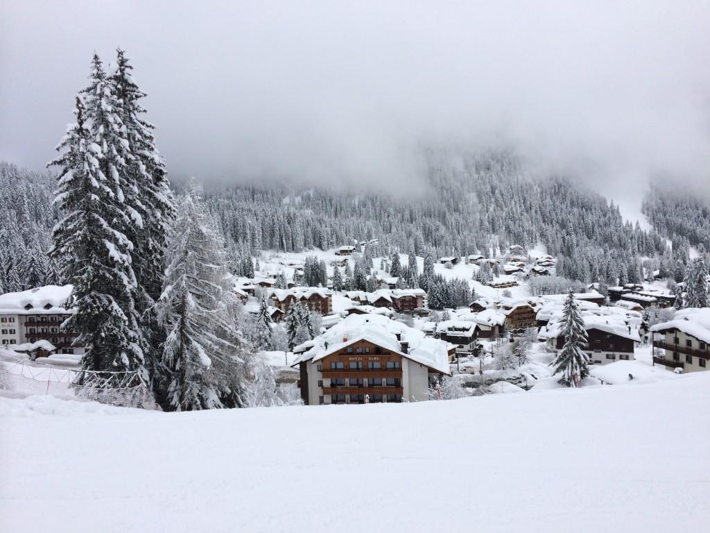 Zdjęcia: Marileva, Dolomity, Zima, WłOCHY
