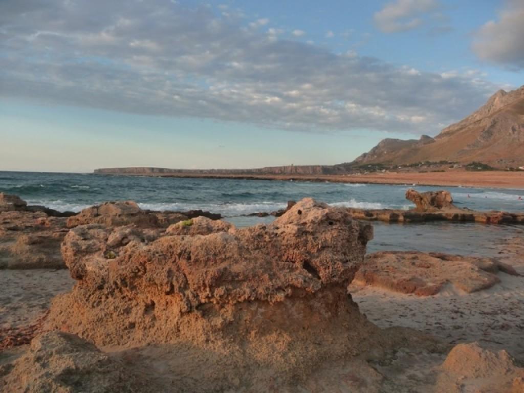 Zdjęcia: Golfo del Cofano, Sycylia, morze, WłOCHY