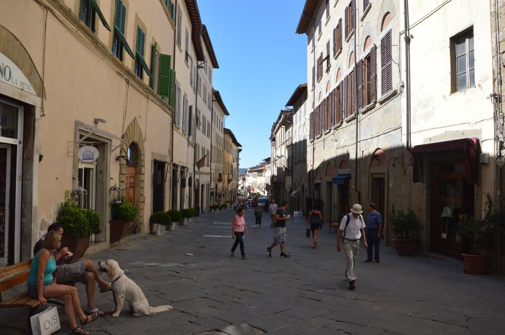 Zdjęcia: Arezzo, Toskania, w cieniu, WłOCHY