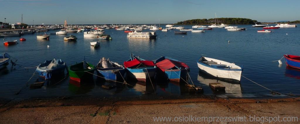 Zdjęcia: Porto Cezareo , Apulia, łódki, WłOCHY