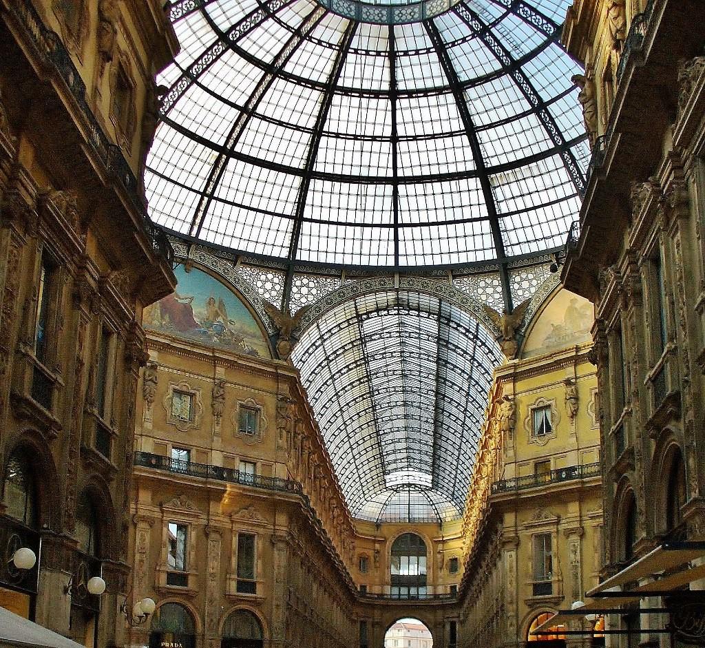 Zdjęcia: Mediolan, Lombardia, Mediolan, Galeria Wiktora Emmanuela, WłOCHY