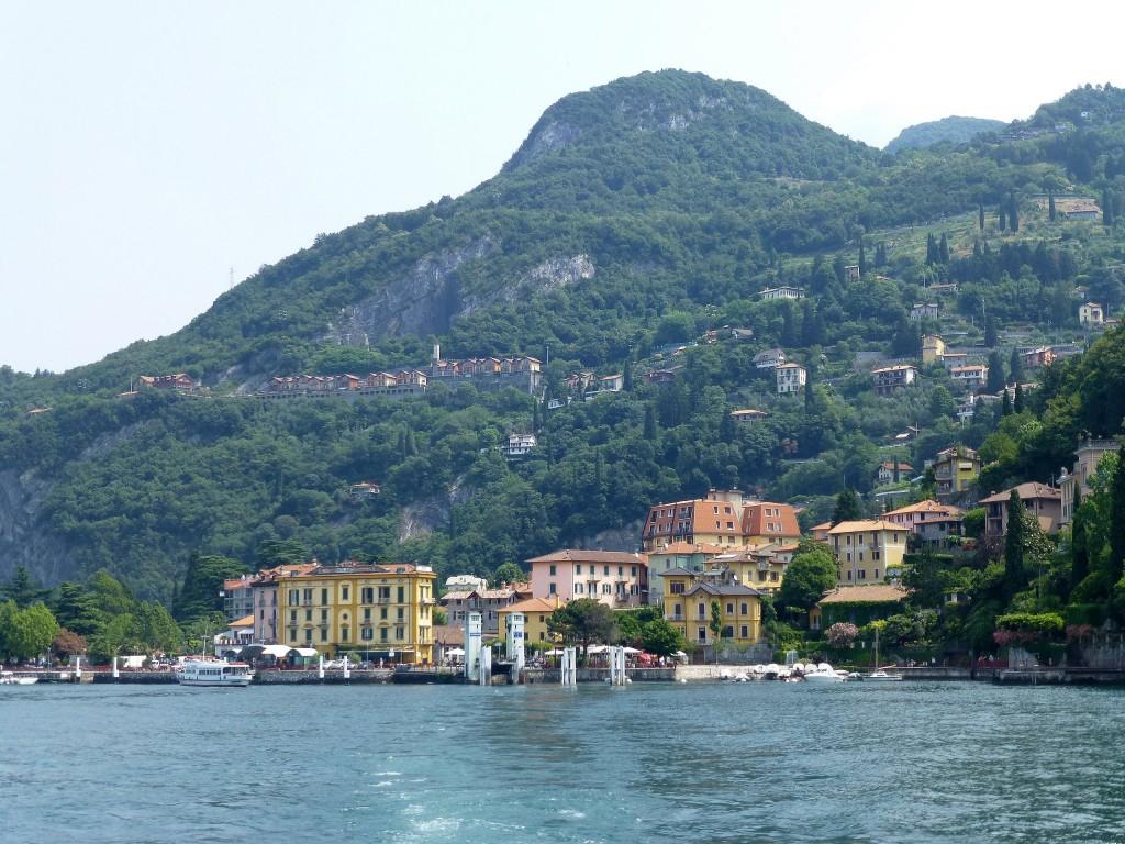 Zdjęcia: Jezioro Como, Lobmardia, dopływamy do Bellagio, WłOCHY