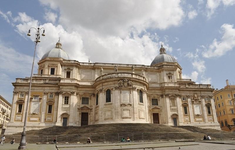 Zdjęcia: Rzym, Lazio, Rzym, Basilica di Santa Maria Maggiore, WłOCHY