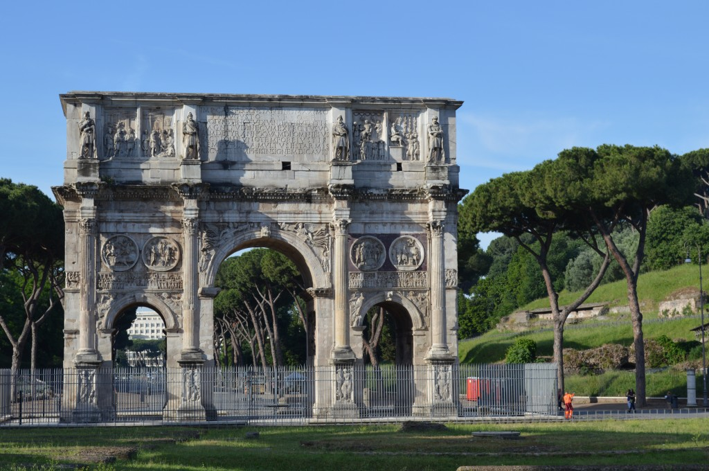 Zdjęcia: Rzym, Lacjum, Luk Konstantyna Wielkiego , WłOCHY