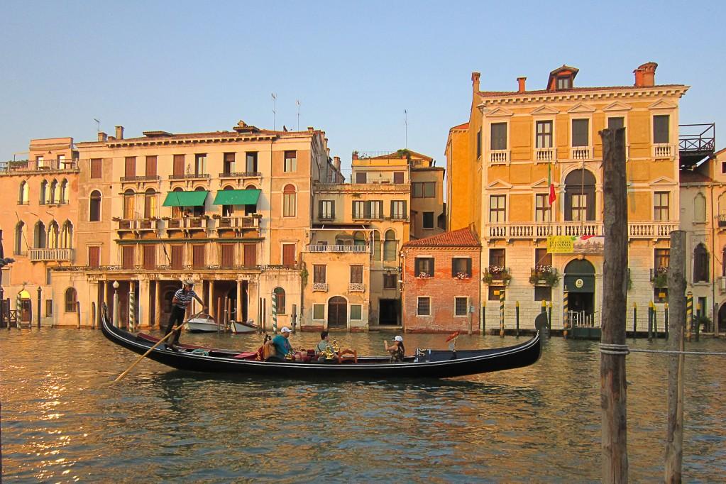 Zdjęcia: Wenecja, Wenecja, O zachodzie 1, WłOCHY