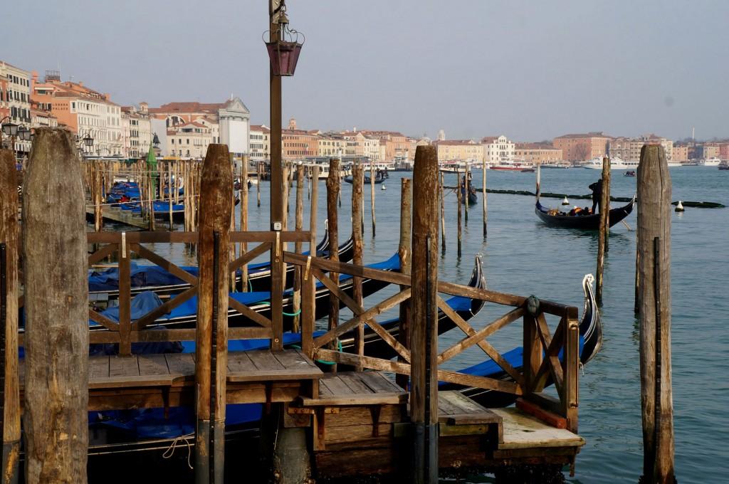 Zdjęcia: Wenecja, płn Włochy, Przystań, WłOCHY
